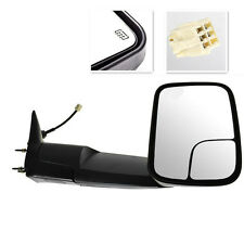 RIGHT ONLY For 98-02 Dodge Ram Pickup Towing Power Heated Flip Up Mirrors Black