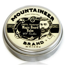 Mountaineer Brand Magic Beard Balm: WV Timber Scent, 2 oz