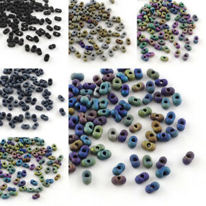 20g-Peanut-Japanese-Farfalle-Butterfly-Matte-Glass-Seed-Beads-4x2x2mm-Hole-0-5mm