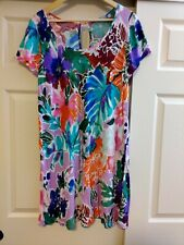 NEW Jams World Brooklyn Dress Garden Sunrise Mauve Sundress XL Made in USA