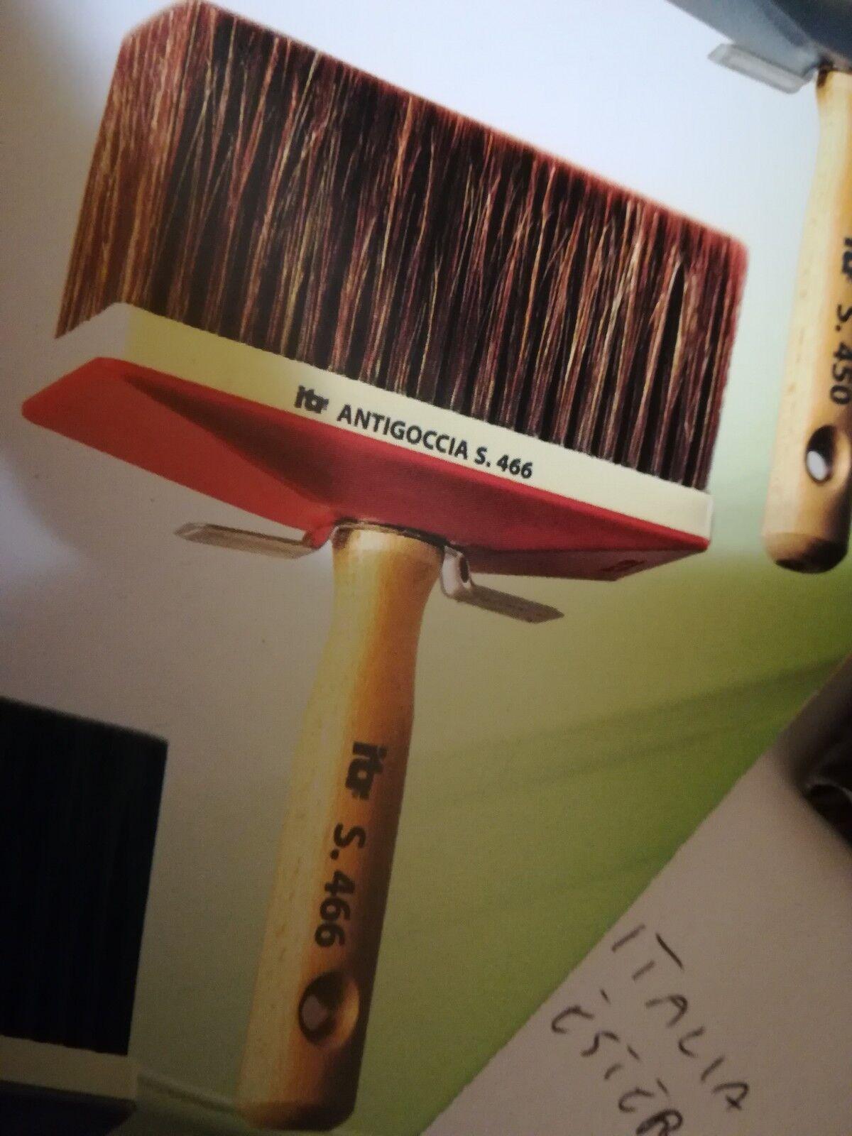 Plafonnier Anti-goutte Poignée En Bois 6,5X16 S 466 Pinceau plat Paquet 6 Pcs
