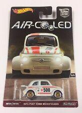 Hot Wheels Car Culture Air Cooled  60's Fiat 500D Modificado w/ Real Riders