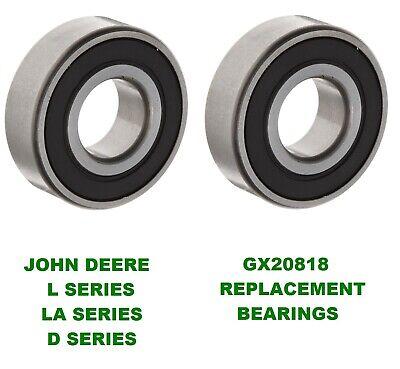 6 John Deere Mower Deck Spindle Bearings L100 L120,130 LA155 GX20818 LA145