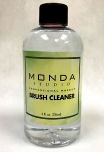 1dad2b87e630 Details about Monda Studio Professional Makeup Brush Cleaner Cleanser  Solution - 8oz 16oz 32oz