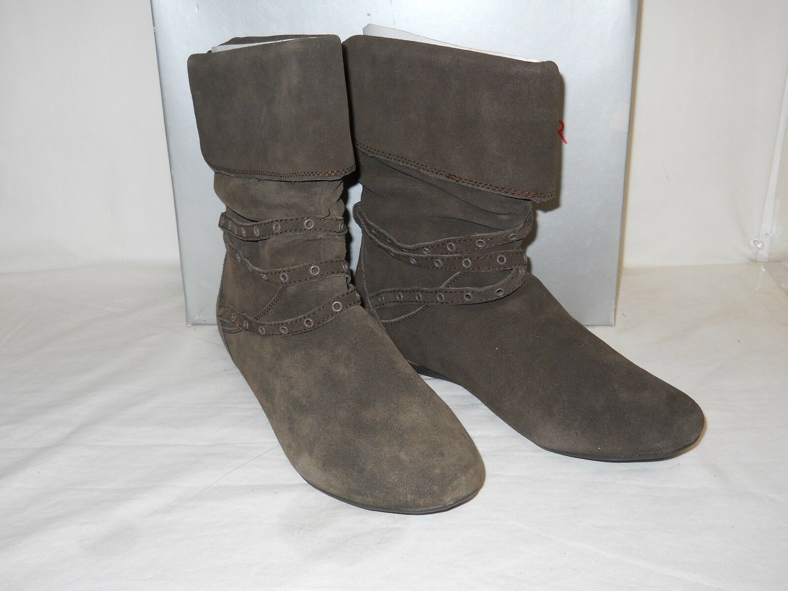 Report Footwear New Womens Bethel Brown Boots 10 M shoes NWB