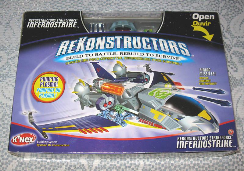 K'Nex Rekonstructors Strikeforce Infernostrike MB FREE SHIPPING
