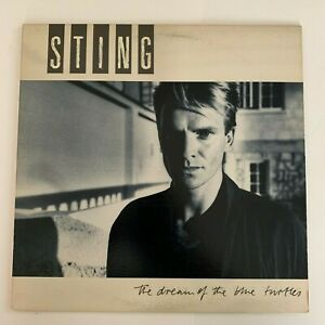 Sting-The-Dream-Of-The-Blue-Turtles-1985-Vinyl-LP-Condition-VG