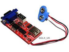 VGA Signal Generator LCD Display Tester DC5V Power Input Brand New - UK