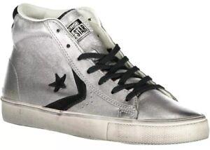 scarpe converse donna argento