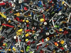 Genuine-LEGO-Technic-1kg-1000g-Job-Lot-Mixed-Bundle-Beams-Lift-Arm-Cog-Pins