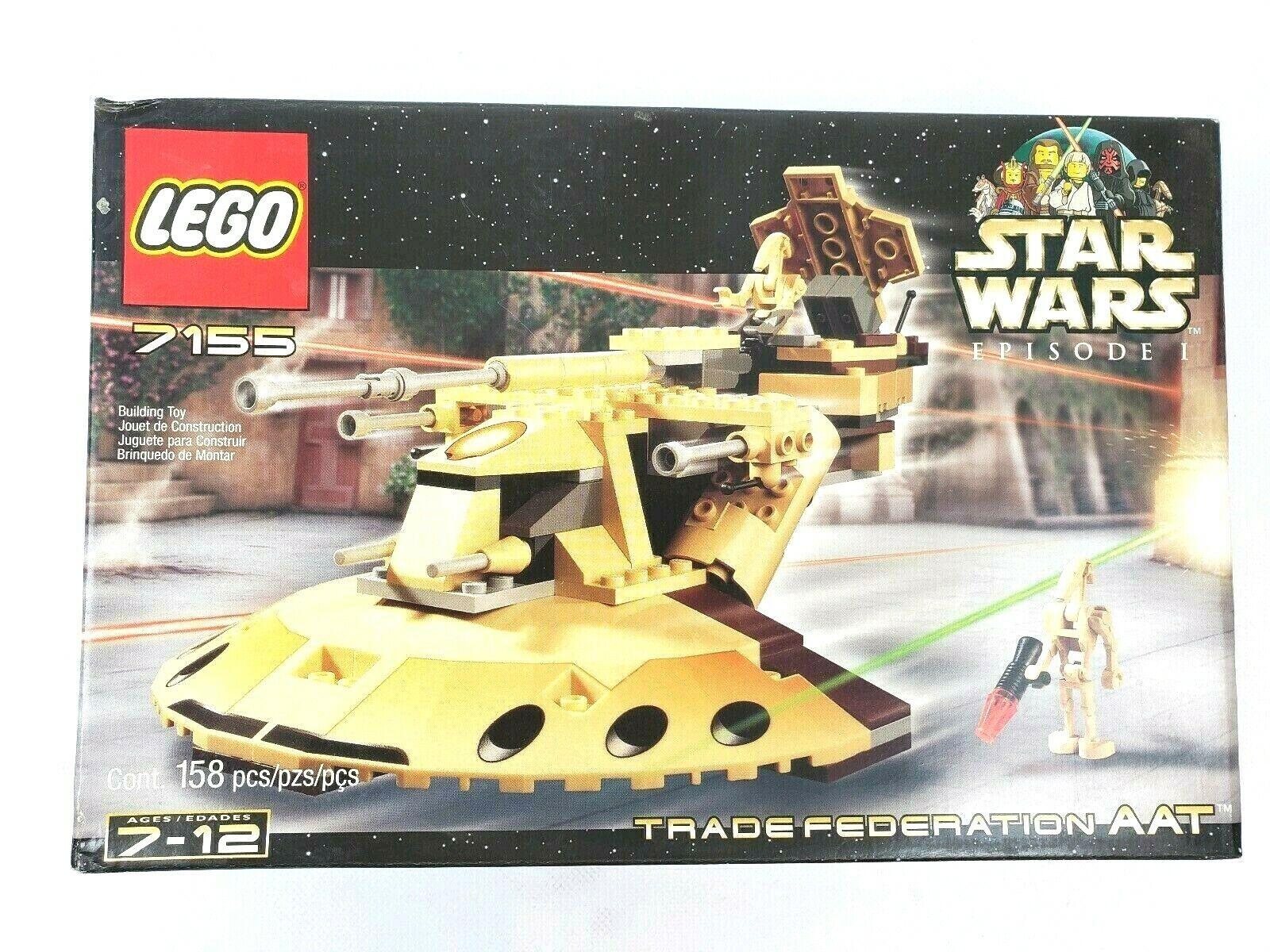 Lego Star Wars Episode I Trade Federation AAT (7155)