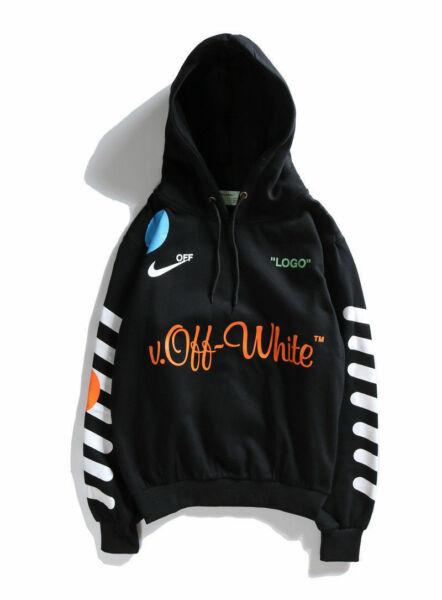 Lab x OFF WHITE Hoodie Virgil Abloh Mon Amour Sweatshirt Sport Kapuzenpullis AAA