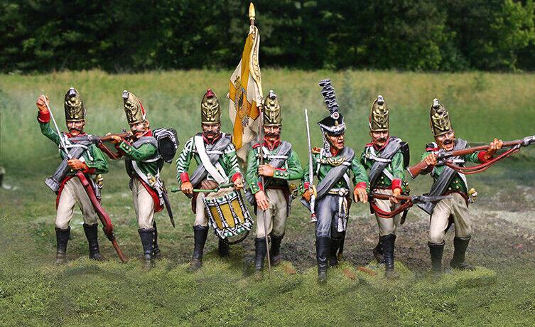 Colieccionistas Vitrina Napoleoniske brite 65533; 65533;nico Aliados Ruso fuldføreo 7 Figua Set