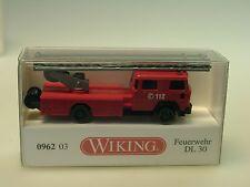 Wiking Magirus Feuerwehr Drehleiter DL 30 - 0962 03 - 1/160