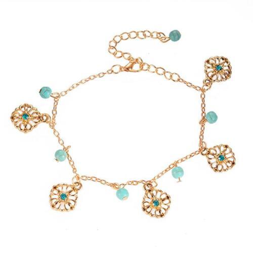 Fashion Ankle Bracelet Women Anklet Foot Jewelry Pendant Chain Beach Decor SM