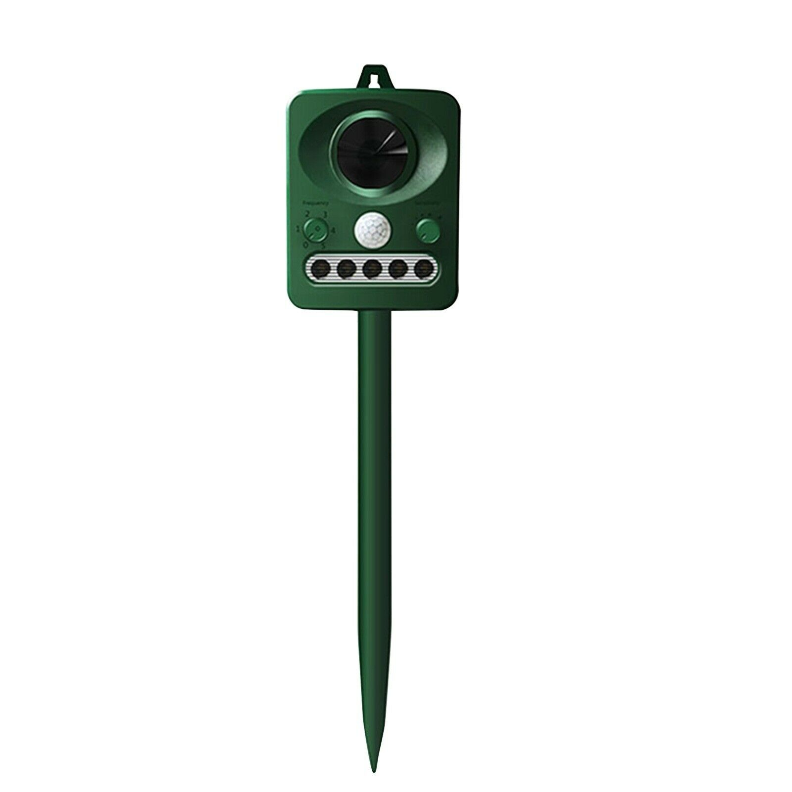 Ultrasonic Animal Repeller Solar Electronic Outdoor Waterproof with Flashing LED