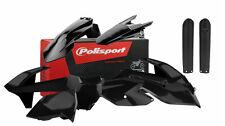 Polisport MX Complete Plastic kit KTM SX-F 2016/17 - Black - with fork Guards