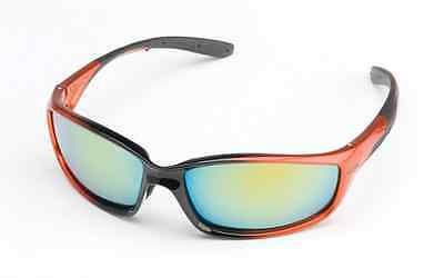 STIHL Hellfire Safety Glasses 99% UV Protection Orange Frame / 3 Lens Colors