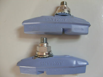 SKYWAY TUFF PAD LIGHT BLUE 1PR OLDSCHOOL BRAKE SHOES