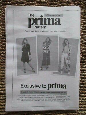 Leal Prima Patrón (chaqueta O Vestido) Septiembre De 2017