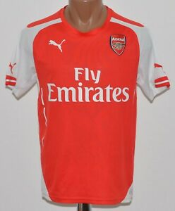 ARSENAL-LONDON-2014-2015-HOME-FOOTBALL-SHIRT-JERSEY-PUMA-SIZE-S-ADULT