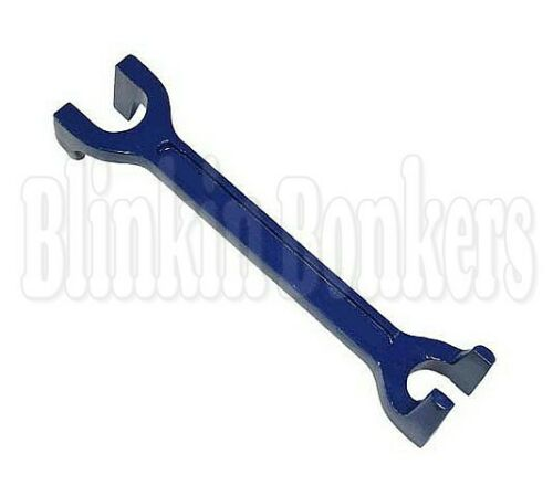 "Plumbers 15 mm 22 mm Fixed Basin Wrench /& 11/"" Adjustable Tap Nut Spanner Bath Sink"