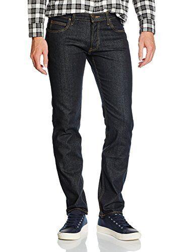 (TG. 34W   34L) Lee Powell, Jeans Uomo, Blu (Deep Dark), W34 L34 (Taglia (v4r)