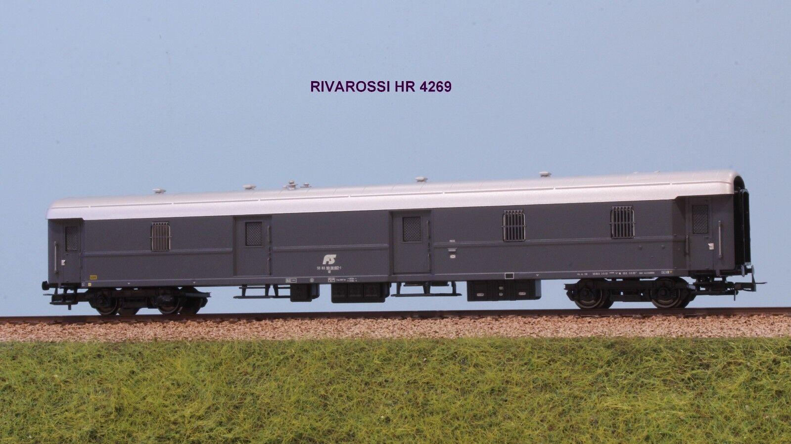 RIVAROSSI HR 4269 FS Borsaagliaio tipo 1949 livrea grigia logo inclinato ep. IV