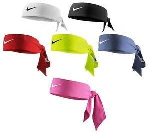 NEW Nike Dri-Fit Head Tie 2.0 Headband Head Tie Black White Red Blue ... 8f6abd2e41b