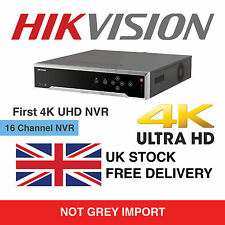 Hikvision 16 Channel Network NVR 16 PoE 16CH CCTV DS-7716NI-I4/16P up to 24TB