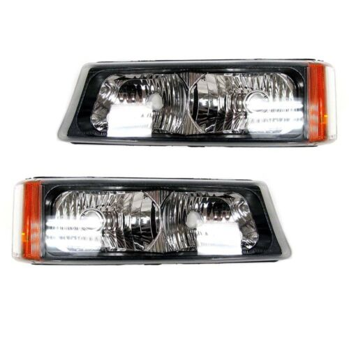 03-07 GM Truck /& SUV 2 OEM NEW Day Time Parking Light Lamp Right /& Left Set