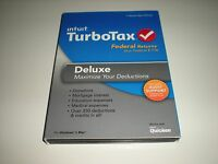 Turbotax 2013 Deluxe. Federal Only + Federal E-file. In Sealed Box.