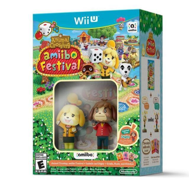 Animal Crossing: Amiibo Festival Bundle (Nintendo Wii U, 2015) NIB SEALED