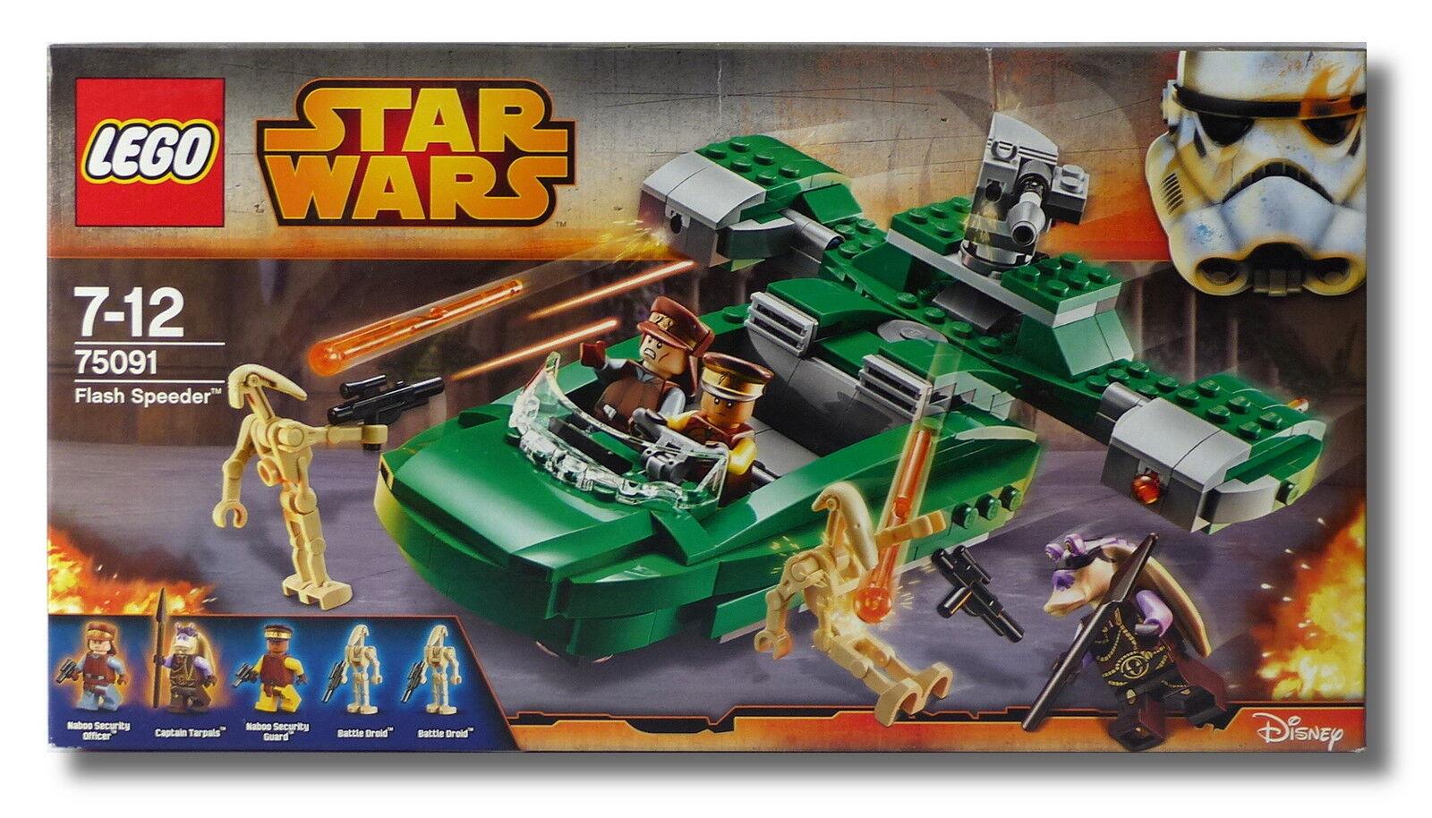 LEGO ® Star Wars ™ 75091 Flash Speeder ™ Naboo truppa guardia Collector 2015 Nuovo/Scatola Originale