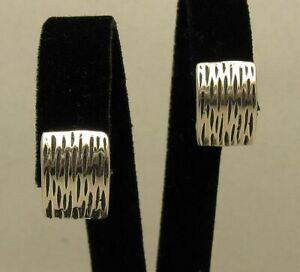 Sterling Silber Ohrringe massiv punziert 925 handgefertigt nickelfrei