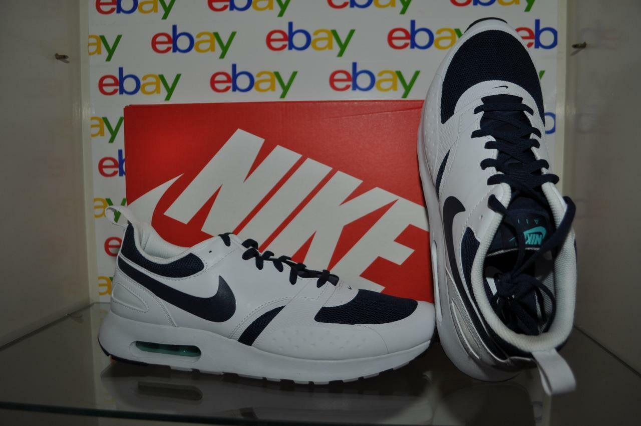 outlet store 087cf e68a8 ... Nike Air Max Vision Mens Athletic Shoes 918230 400 White Navy  White Navy White ...