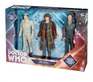 Doctor-Dr-Who-4th-The-70s-Collectors-Figure-Set-New-Sealed