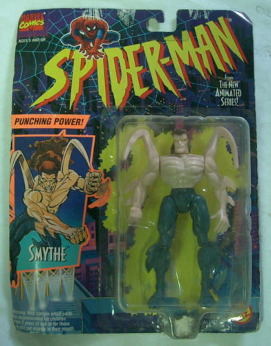 SPIDER MAN SMYTHE TOYBIZ 1994 MOC SELTENE