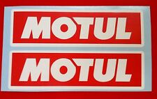 Motul Sticker 2 x 290mm Stickers Decals Racing Car Motorbike Rally Sponsors RW