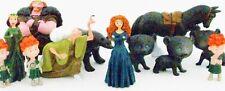 *BRAVE 12 Figure Set PVC TOY Cake Topper MERIDA Witch FERGUS Bear ANGUS Horse!*
