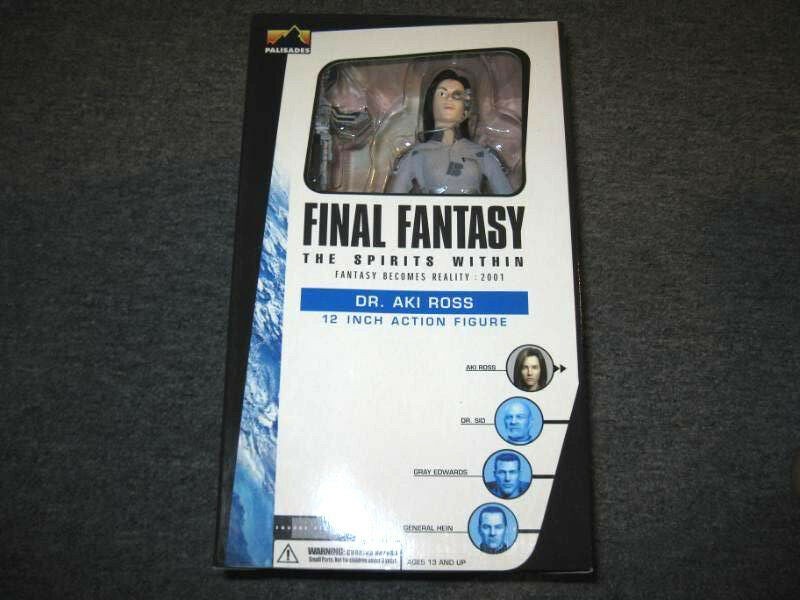 Palisades FINAL FANTASY The Spirits Within Dr. Aki Ross 12 Inch Figure 1 6th NEW