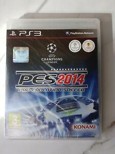 Pro Evolution Soccer PES 2014 (Konami) ps3 Playstation 3 Brandneu Und Versiegelt