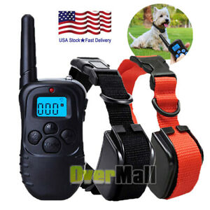 1000-Yards-Dog-Shock-Training-Collar-Remote-Waterproof-for-Large-Med-Small-Dogs
