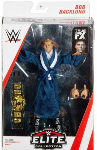 WWE Bob Backlund Collectionneurs Accessoires Mattel Elite SERIES 63 Wrestling Figure