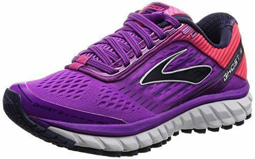 RUNNING SHOES BROOKS GHOST 9 purple purple purple WOMAN CAT. A3 MAX AMMORT CORSA PALSTRA SPORT ce818c