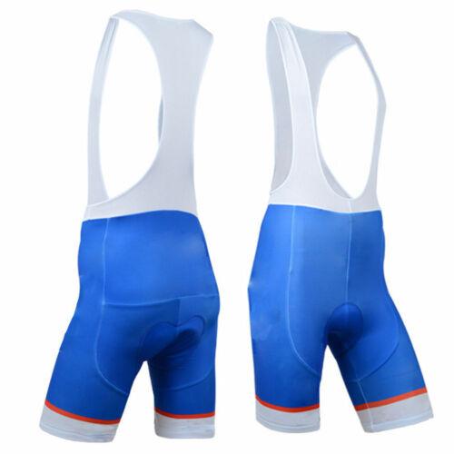 Details about  /Blue Cycling Shorts Bib Shorts Men/'s Padded Bicycle Cycle Shorts Bibs S-5XL