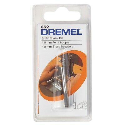 HSS 4,8 mm Dremel 2615065232 Fresa 4.8mm Acero inoxidable