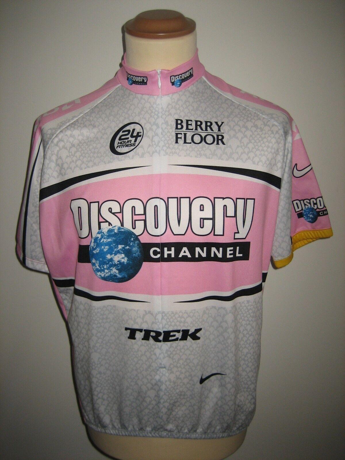 Giro d'Italia Discovery jersey shirt cycling maglia ciclismo trikot size L