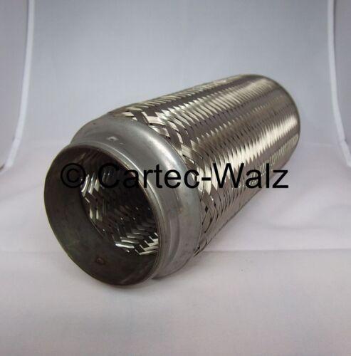 Flessibile//flessibile tubo di scarico 76 x 250 mm CONNETTORE PER TUBI//Tubo di Riparazione