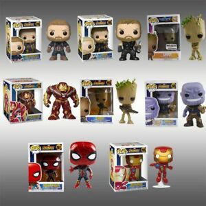 DC-Marvel-Avengers-Iron-Man-Groot-Batman-Figure-Funko-POP-Key-Ring-Keychain